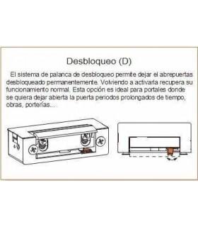 Cerradero eléctrico DORCAS cuerpo simetrico