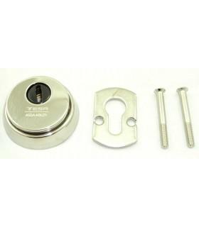 TESA E700L Cylinder Guard, Silver Color