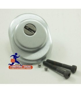 Escudo antitubo macizo para cerraduras standard