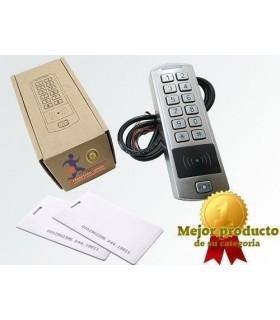 Teclado combi de códigos + tarjetas RFID para exterior
