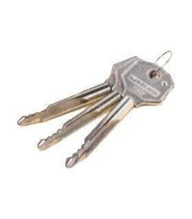 Cerradura de llave cruciforme entrada 50mm